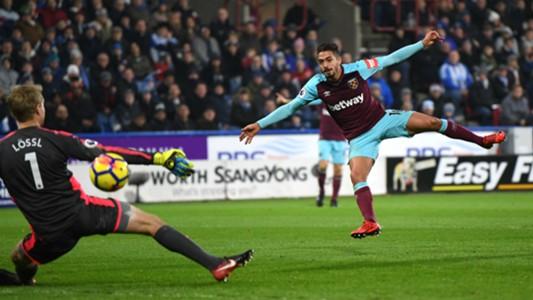 Manuel Lanzini West Ham v Huddersfield 13012017