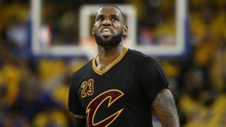 LeBron James NBA Finals Game Five 12062017