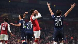 Arsenal v Estrella Roja Europa League 11022017