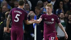 Kevin De Bruyne Manchester City Premier League 09302017