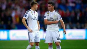 Club Atletico de Madrid v Real Madrid CF UEFA Champions League quarterfinal 14042015