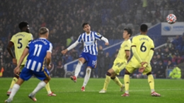 Arsenal were held to a goalless draw by Brighton and Hove Albion on Saturday