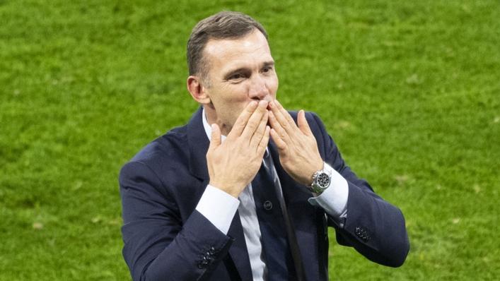 Andriy Shevchenko guided Ukraine to the quarter-finals of Euro 2020