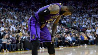 LeBron James Los Angeles Lakers v Golden State Warriors NBA regular season 25122018