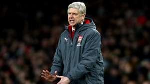 Arsene Wenger Arsenal v Chelsea Carabao Cup Semifinal Second Leg 24012018
