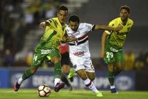 Defensa y Justicia vs Sao Paulo Copa Sudamericana 05042017