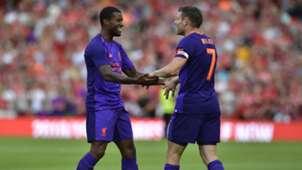 James Milner Liverpool vs Napoli Amistoso Internacional 04082018