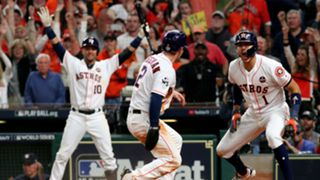 Alex Bregman Houston Astros vs Los Ángeles Dodgers Serie Mundial MLB 29102017