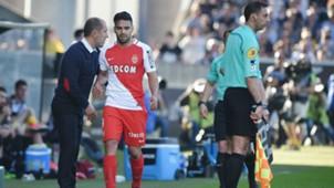 Leonardo Jardim Radamel Falcao Angers v Monaco Ligue 1 08042017