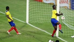 Ecuador vs Perú Sudamericano Sub 20 30012017
