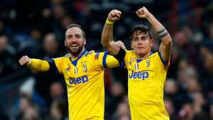 Higuaín Dybala Juventus Tottenham Champions League 07032018