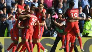 Inglaterra vs Escocia Eliminatoria Europea 10062017