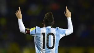 Lionel Messi Argentina v Ecuador 11102017