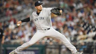 Dellin Betances New York Yankees 2018