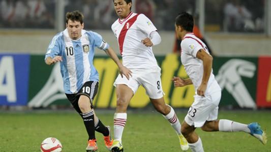 Lionel Messi Perú v Argentina Eliminatorias sudamericanas 11092012