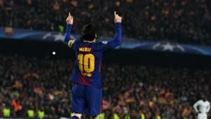 Lionel Messi Barcelona v Chelsea Champions League 14032018