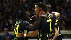 Cristiano Ronaldo Juventus v Parma Serie A 01092018