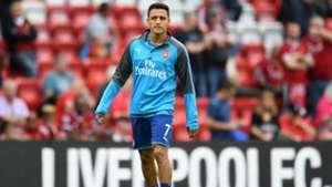 Alexis Sanchez Liverpool v Arsenal Premier League 27082017