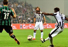 Paul Pogba Juventus vs Sassuolo Serie A Italy 18102014
