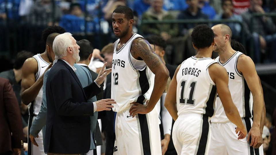 Spurs star LaMarcus Aldridge requested trade before season, Gregg Popovich reveals