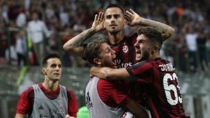 Milan v Cagliari Serie A Italy 27082017