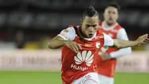 Anderson Plata Independiente Santa Fe v Deportes Tolima Colombia first division 18122016
