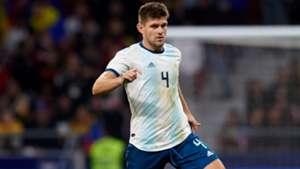 Walter Kannemann Selección argentina