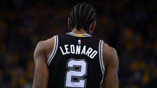 Kawhi Leonard San Antonio Spurs v Golden State Warriors Game One 14052017