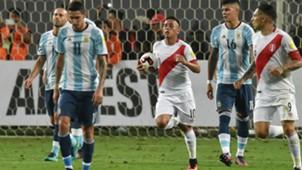 Peru v Argentina Eliminatorias Sudamericanas Christian Cueva 06102016