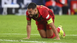 Eden Hazard during Belgium's Nations League loss to France