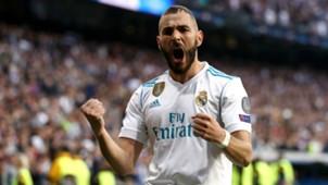 Karim Benzema Real Madrid v Bayern Muenchen UEFA Champions League 01052018