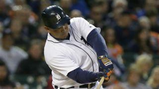 Miguel Cabrera Cleveland Indians v Detroit Tigers MLB 27092016