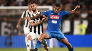 Juventus v Napoli Serie A 22042018