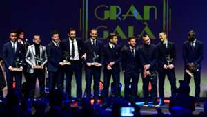Once ideal Calcio Italiano Ceremonio de premiacion 27112017