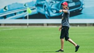 Ricardo Gareca Peru training session in Miami 17032018