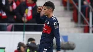 James Rodriguez FSV Mainz 05 v FC Bayern Muenchen Bundesliga 03022018