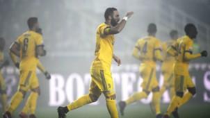 Gonzalo Higuaín Atalanta v Juventus Coppa Italia 30012018
