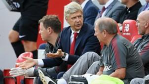 Arsene Wenger Liverpool v Arsenal Premier League 27082017