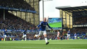 Wayne Rooney Everton vs Stoke City Premier League 12082017