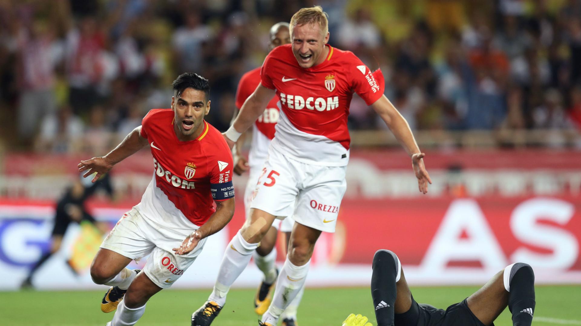 Falcao García marcó dos goles con el Mónaco