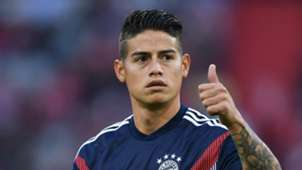 James Rodriguez Bayern Muenchen v Borussia Moenchengladbach Bundesliga 06102018