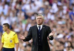 Carlo Ancelotti Real Madrid vs Málaga La Liga Spain