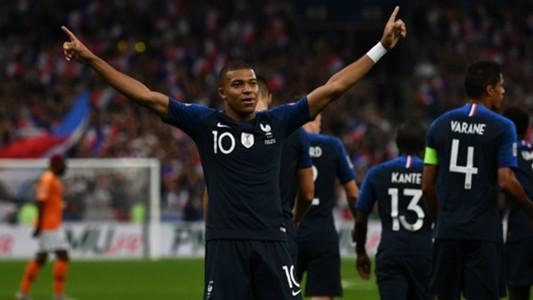 Mbappé France Netherlands UEFA Nations League 09092018