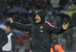 Luis Enrique Getafe v Barcelona La Liga 13122014