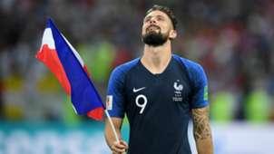 Olivier Giroud France v Croatia FIFA World Cup Russia Final 15072018