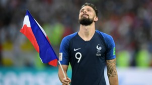 Olivier Giroud France v Croatia FIFA World Cup Russia Final 15072018