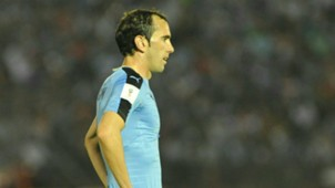 Diego Godin Uruguay v Brazil World Cup qualifier football match 23032017