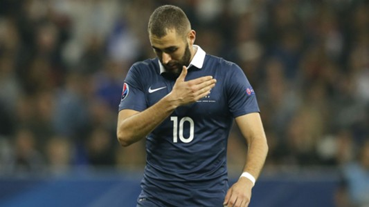 Karim Benzema France v Armenia International friendly 08102015