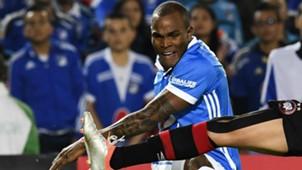 Ayron del Valle Millonarios v Atletico Paranaense Copa Libertadores 2nd round 08022017