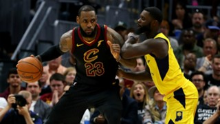 LeBron James Lance Stephenson Cleveland Cavaliers v Indiana Pacers NBA 29042018